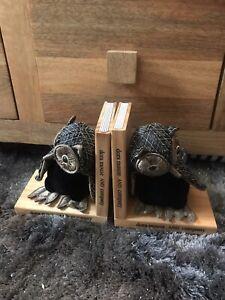 Dora Designs pair of OWL bookends