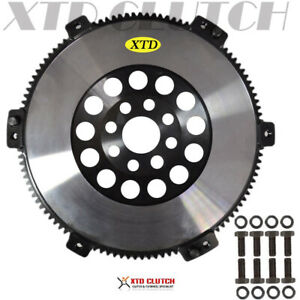 XTD RACING 14LBS CHROME MOLY FLYWHEEL BMW M50 M52 S50 S52 S54 E34 E36 E39