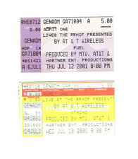 Fuel & Staind Two Concert Ticket Stubs Live at the Rrhof & Mtv Concert Ohio Rare