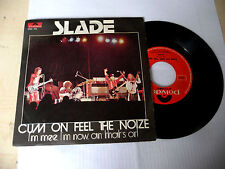 "SLADE"" CUM ON FEEL THE NOIZE-disco 45 giri POLYDOR It 1973""-PERFETTO-GLAM/ROCK"