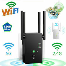 AC1200 WIFI Repeater 2.4G 1200Mbps Router Wireless Range Extender Signal Booster
