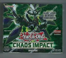 YuGiOh Chaos Impact 1st Edition Booster Box SEALED