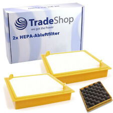 2x HEPA-abluftfilter reemplaza Hoover 39001032 39001164 39001206 39001244 39001305