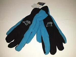 Carolina Panthers NFL Gloves with Thinsulate Insulation