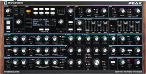 Novation Peak Eight-Voice Polyphonic Synthesizer - In Stock! | Atlas Pro Audio