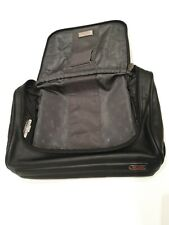 Tumi leather toiletries & make up bag for travel - toiletry wash bag case