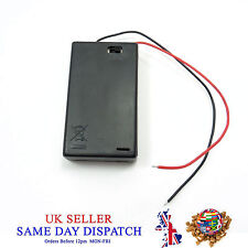 AAA x 3 porte-batterie avec connexion on Off Switch Et Fil Câble