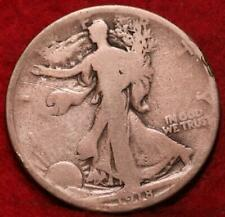 1918-D Denver Mint Silver Walking Liberty Half
