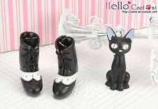 ☆╮Cool Cat╭☆【26-2】Blythe/Pullip High-Heel Short Boots # Black