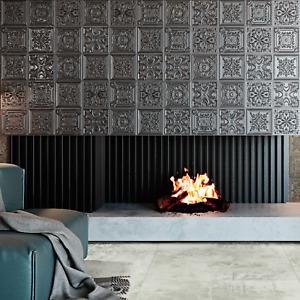 FULL TILE SAMPLE: Regency Tin Lead Victorian style Embossed Wall Panel Tiles