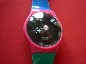 SWATCH SPECIAL CLUB CRYSTAL SURPRISE - GZ129 - 1994 - NEW - NUOVO