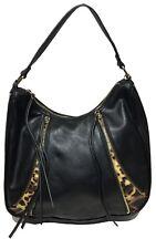 NWT Joe's Jeans Woman's Phoebe Hobo, Black/Leopard Color MSRP: $118.00