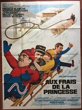 Poster Aux Fresh (Disney Inspired) Tutu Long Dress Cape & Crown Mountain Skiing