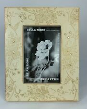 Interlocking two Hearts Crystal Encrusted Silver Plated Photo Frame photo 6x6 cm