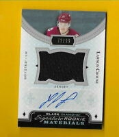 D3210 LAWSON CROUSE 2016/17 BLACK DIAMOND ROOKIE AUTOGRAPH JERSEY #72/99