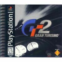 Gran Turismo 2 PlayStation 1 PS1 Game Complete *CLEANED VG