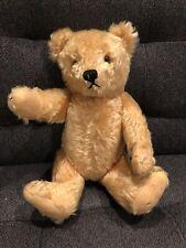 "15"" Antique Gold Mohair Teddy Bear Germany"
