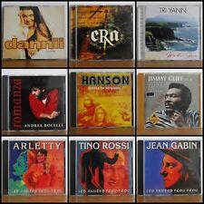 Gros lot 100 CD compiles singles variété française internationale voir 12 photos