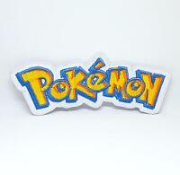 Pokemon game movie logo iron/sew on Embroidered Patch