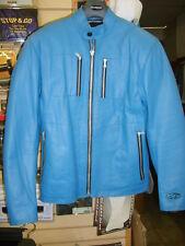 Alpine Star Leather Betty Jacket Women's Blue