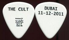 The Cult 2011 Weapon Tour Guitar Pick! custom concert stage Pick Dubai