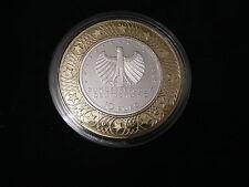 10 EURO DUITSLAND 2006 PROOF 650 JAAR HANZESTEDEN IN METALEN RING KNM