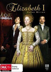 Elizabeth I - Helen Mirren - BBC Drama mini-series PAL DVD Region 4 NEW SEALED