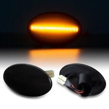 LED SEITENBLINKER Black für Opel ASTRA F CORSA B + C TIGRA Meriva A