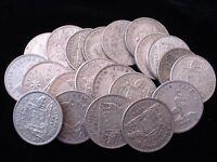 Australian Predecimal  Silver Florin Bulk Coins 10pc