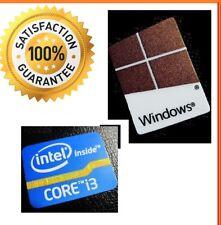 Desktop Intel Inside Core i3 PC computadora libre de Windows 10 7 8 original de la etiqueta engomada