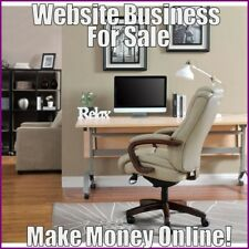 HOME OFFICE FURNITURE Website Earn $341.21 A SALE|FREE Domain|FREE Hosting
