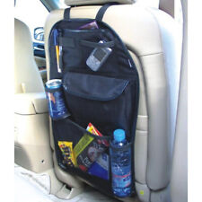 Car Truck Back Seat Multi-Pocket Storage Pouch Bag Black Home Organizer Holder