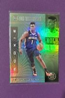 Zion Williamson 2019-20 Illusions 👽Emerald👽 RC Parallel Rookie Pelicans #151