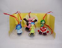 Disney Pixar Inside Out Christmas Ornaments 6pc Set Joy Sadness Anger Bing Bong