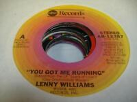 """Soul 45 LENNY WILLIAMS You Got Me Running on ABC 7"""""""