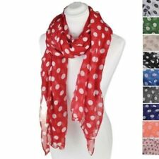 Sciarpe , foulard e scialli da donna grigi pois