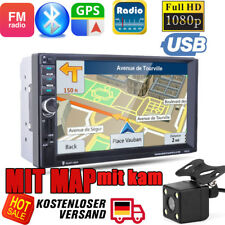 Excelvan 7021G Car MP5 Player Bluetooth Handsfree Naviga 7ZOLL GPS +KAM+Map