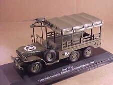Eaglemoss #EM014 1/43 Diecast Dodge WC63 1 1/2 Ton Truck, Arracourt, France '44