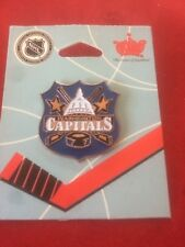 NEW Washington Capitals Shield Pin - Vintage Throwback - Stanley Cup Champions