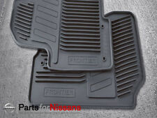 Genuine Nissan 2011-2018 Frontier All Season Rubber Floor Mats NEW OEM