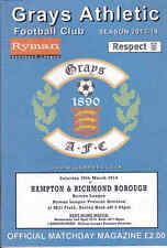 2013/14 GRAYS ATHLETIC V HAMPTON & RICHMOND BOROUGH 29-03-2014 Ryman League Prem