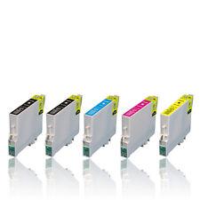 50 XL Farb-Patronen Set mit Chip für Epson Workforce WF-2530WF WF-2630WF