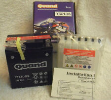 Quand CB12A-A/YB12A-A Motorcycle Battery Battery Motorbike 165A 12Ah Ducati