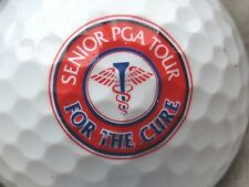 (1) SENIOR PGA TOUR FOR THE CURE  LOGO GOLF BALL