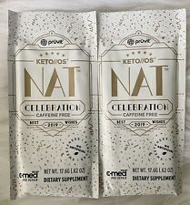 Pruvit Keto OS NAT Celebration Caffeine Free- 2 pack