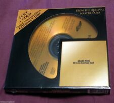 GRAND FUNK RAILROAD - We're an American Band - 24 KT GOLD CD - AUDIO FIDELITY