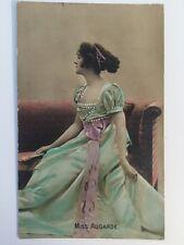 Vintage Postcard - H B B  London - Miss Augarde - Posted 1908