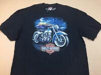 "Harley-Davidson Men's black  XL Shirt ""spark plug Hunter"" duo glide"