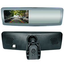 "Frameless Rear View Mirror with 4.3"" Ultra High Brightness LCD & Mirrorlink"