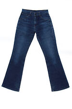 Levis 525 85 Vintage Damen Faded Stretch Denim Blau Jeans Bootcut W26 L32 UK8